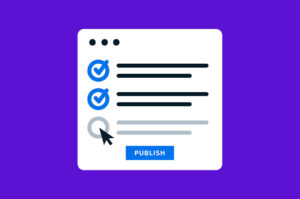 checklist before publishing a wordpress post